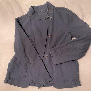 Madewell Casual Navy Blazer